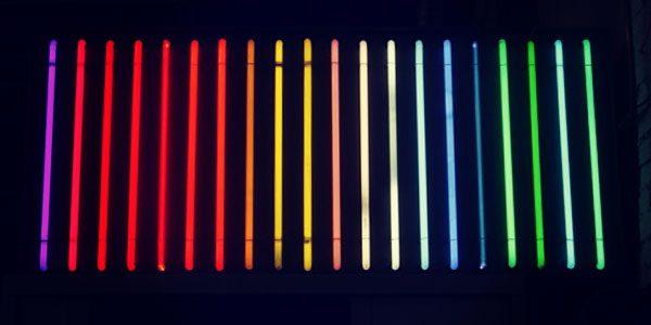 neon-contourlijn